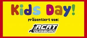 """EINLADUNG ZUM """"KIDS DAY!"""" 2019 @ RCRT Duisburg e.V."""